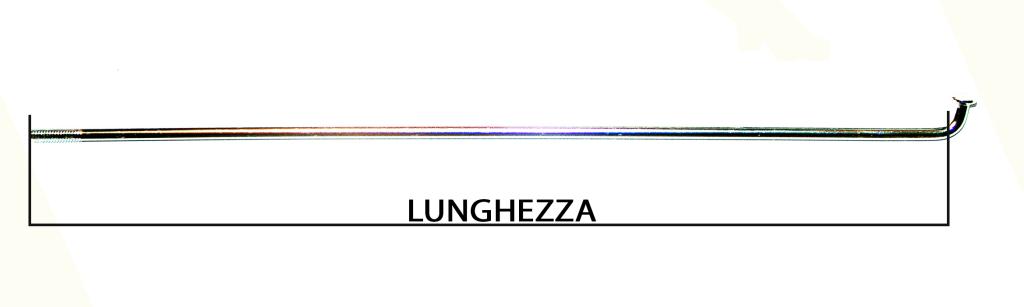 lunghezza raggi
