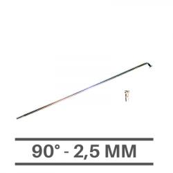 Raggi Cromati 2,5mm - 90°