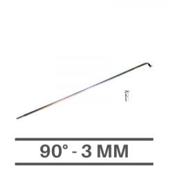 Raggi Cromati 3mm - 90°