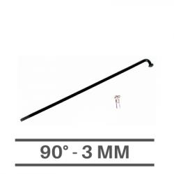 Raggi Neri 3mm - 90°